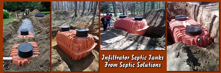 James Backhoe Service, Inc  Poly Septic Tanks - Dieterich